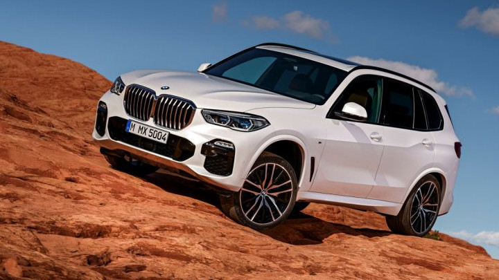 BMW X5 2018 lateral